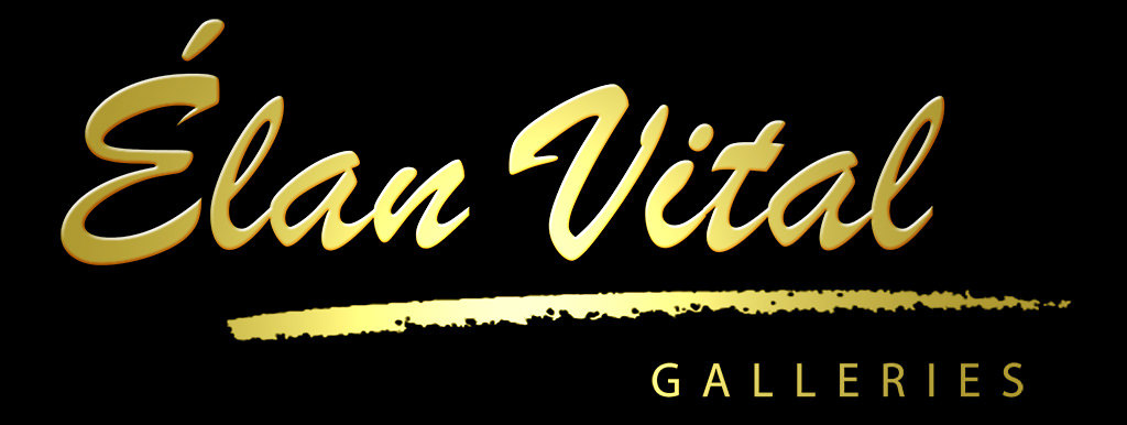 Elan Vital Galleries Modern Art Logo