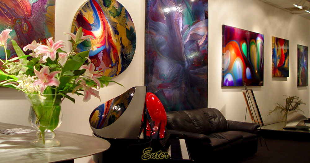 See the modern and contemporary artworks of Élan Vital, utilizing his Life Force energies into every piece of Maui Art